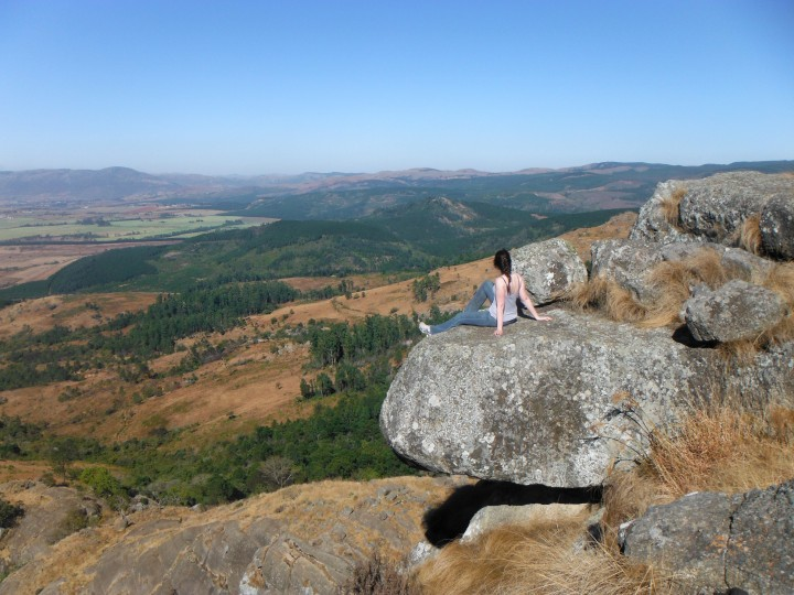 A Swaziland Horse Ride up to ExecutionRock